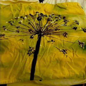 Exotic pillow case. Velvet. Décor. Warm